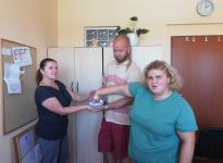 Děkujeme Nadačnímu fondu A.V.A. za dar pro pěstouny